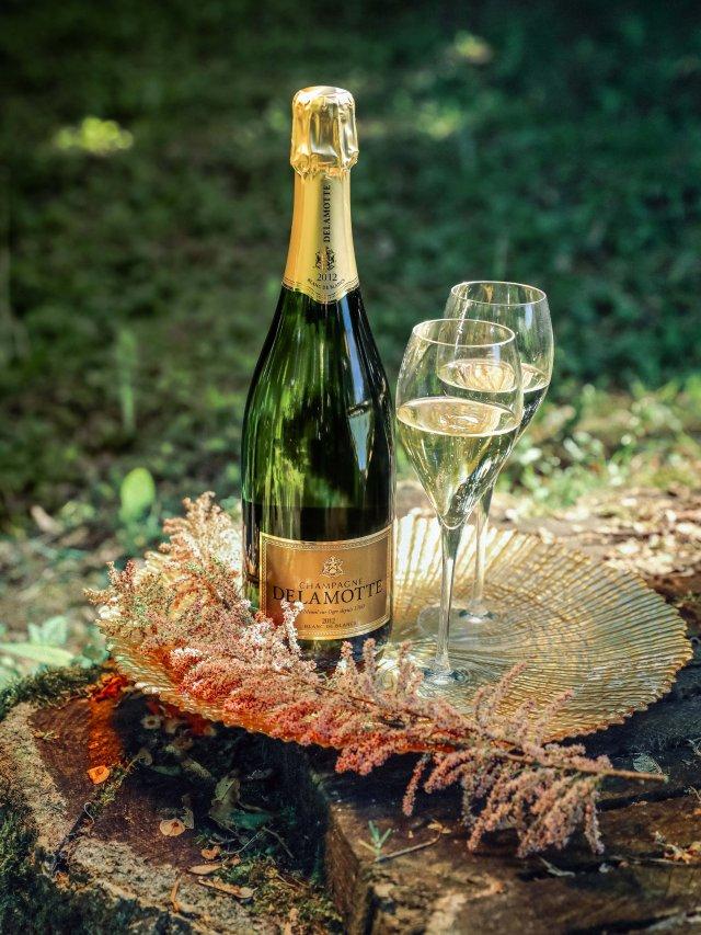 白中白香槟 2012年份香槟