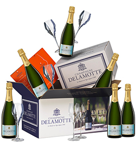 Gift box Brut with 6 glasses